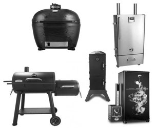 smokers and charcoal fired units