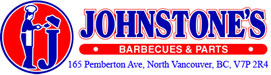 Johnstones Barbecue Parts and Accessories