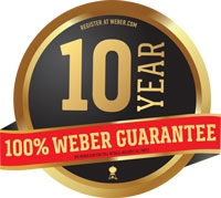 weber 10 year guarantee