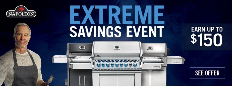 napoleon extreme savings event