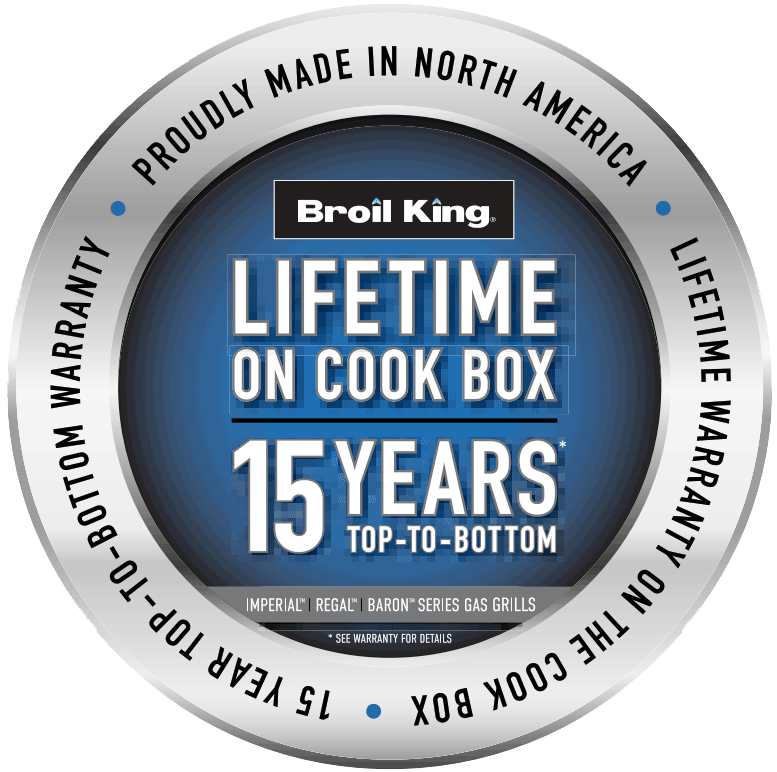 broil king limited warranty