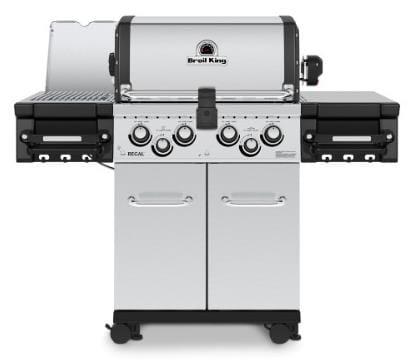 Regal S490 Pro IR S/B 9MM S/S Cooking Grids