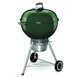 Weber - 14407001 - 22.5in Original Kettle Premium (Green) Charcoal Grill