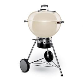 Weber - 14505601 - 22.5in Master Touch Ultra Premium Charcoal Kettle Ivory