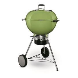 Weber - 14511601 - 22.5in Master Touch Ultra Premium Charcoal Kettle Spring Green