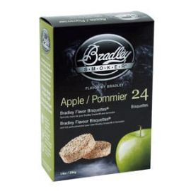 Bradley Apple Bisquettes 24-Pack - BTAP24
