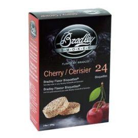 Bradley Cherry Bisquettes 24-Pack - BTCH24
