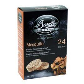 Bradley Mesquite Bisquettes 24-Pack - BTMQ24