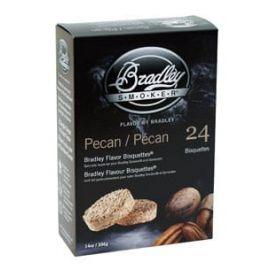 Bradley Pecan Bisquettes 24-Pack - BTPC24