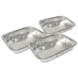 Grill Pro - 50430 - Foil Roasting Trays - 3 Pack