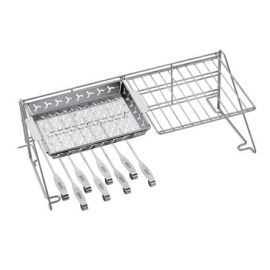 Weber Accessories - 7615 - GRILL RACK & SKEWER SET