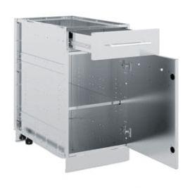 1 Door/Drawer Cabinet (Stainless Steel)