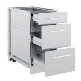 3 Drawer Cabinet (Stainless Steel)