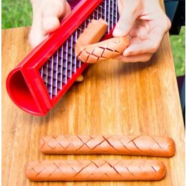 Slot Dog Hot Dog Slicing Tool
