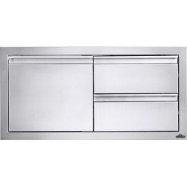 Napoleon 36inch X 16inch Single Door/Two Drawer For BIG38RB