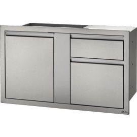 42in x 24in Large Single Door & Standard Drawer