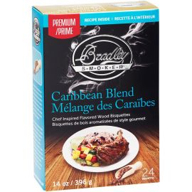 Bradley Smoker Caribbean Bisquettes (48 Pack)