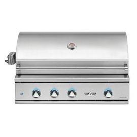 38in Delta Heat Gas Grill W/ Rotis/Sear