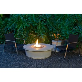 GL-782-SM-11V2PC - American Fyre Designs Contempo Round Firetable