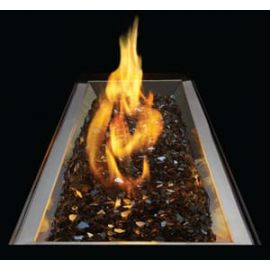 GPFR - Stainless Steel Patio Flame Burner - Rectangular
