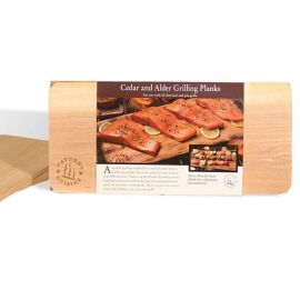 NATURES CUISINE - NC0006 - Cedar/Alder Planks 4pack 2ea