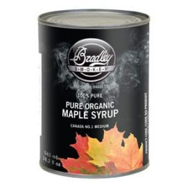 Bradley Maple Syrup Organic /1 Medium (18 fl oz) - MAPLESYRUP