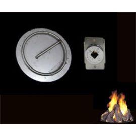 American Fyre Designs - OCB-34 - MATCH LIT BURNER KIT KEYED VALVE 70 MBTU
