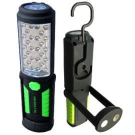 Misc - SP-24458 - 33 LED Flashlight/Worklight - Pivoting