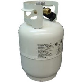 10lb Propane Tank Re-certified, Pre-purged Ready to Fill