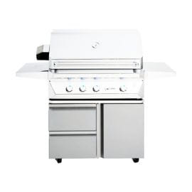 Twin Eagles - TEGB36SD-B - 36in Grill Base with Storage Drawers