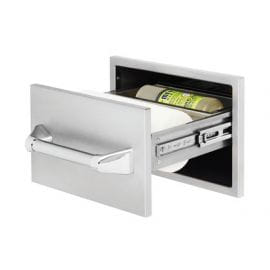 15in Paper Towel Holder with Towel Bar