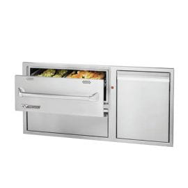 42in Warming Drawer Combo