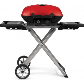 TravelQ Red Lid with Scissor Cart