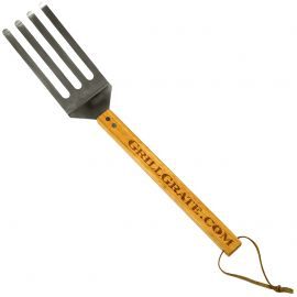 Grill Grate 4 Finger Stainless Steel Spatula