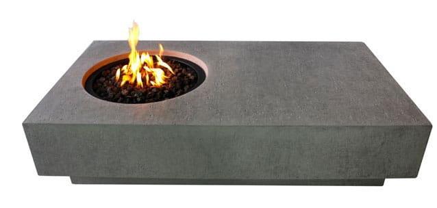 Elementi Metropolis Fire Table